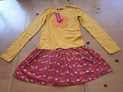 Agatha Ruiz De La Prada Designer Girl's Floral Dress Size 9 - 10 Years - BNWT