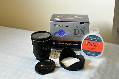 Tokina AT-X PRO DX-II  11-16mm f/2.8 AF Lens for Nikon. Excellent condition.