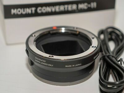 Sigma MC-11 Mount Converter for Sigma EOS lens (Canon EF) to Sony E-Mount (EF-E)