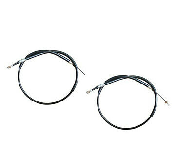 Rear Handbrake Cable Pair for JAGUAR X-TYPE from Chassis no D03129 on