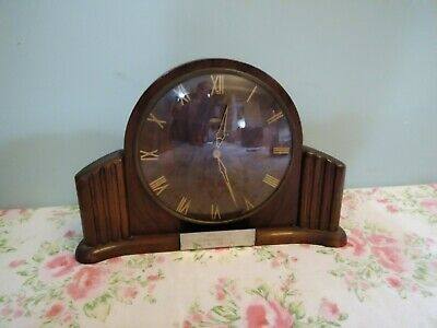Vintage/Retro Metamec Mantel Clock (Spares or Repair)