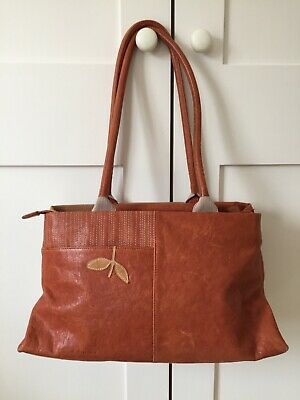 Radley Handbag - Leather - Tote Style - Tan Browns