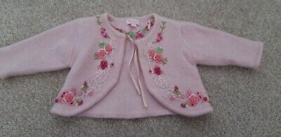 Baby Girl Cardigan, Monsoon, 3-6months