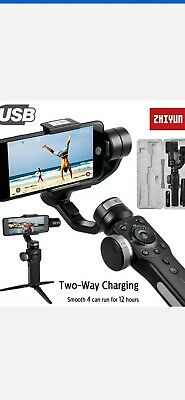 Zhiyun Smooth 4 3-Axis Handheld Gimbal Stabilizer for Smartphones - Black