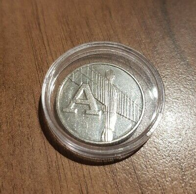 A-Z 10p Coin 2019 - Letter A