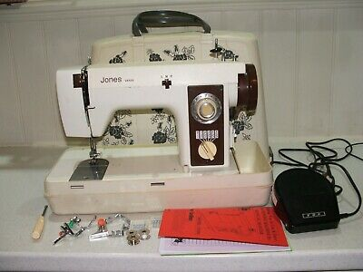 Vintage JONES sewing machine VX500  HEAVY DUTY  Instruction manual
