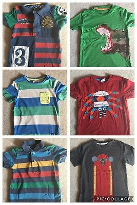 Boden And Joules Boys T Shirt And Polo Shirts Bundle Age 3-4 In GUC