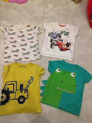 Boys 4x Next T-shirts 1.5-2 Years. One Play ware