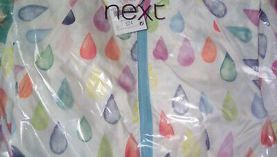 BNWT Next Girls/ Boys All-in-One Raincoat/ Lovely Design/ Age 2-3