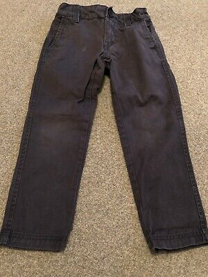 Boys Grey Chino Trousers Fat Face Age 5