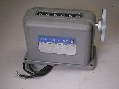 Used Veeder-Root F-1982066 Mechanical Counter L7-2