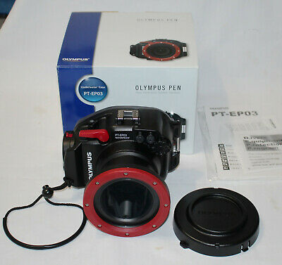 (Post on 24/02)NEW Olympus PT-EP03 Underwater Housing PTEP03 for E-PL2 PEN