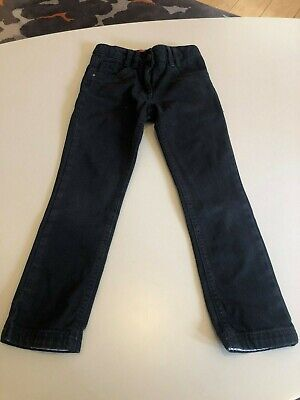 Marks And Spencer Girls Black  Skinny Jeans -  Age 8 Years