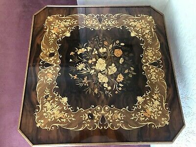 Italian Inlaid Games Table