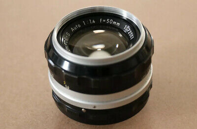Nikon NIKKOR S 50mm F/1.4 MF Lens - Very Good Condition.