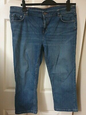 Joules S Frampton  cropped Jeans Women size 18 excellent condition