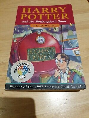 Harry Potter and the Philosopher's Stone (Paperback) 1997 Smarties Gold Award