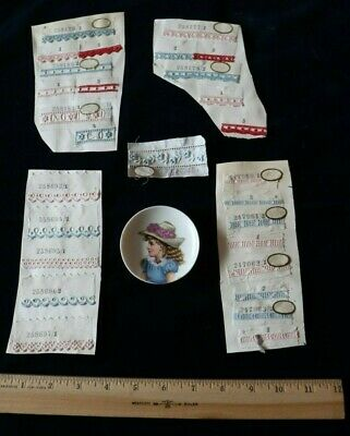 27 Tiny Swiss Embroidery Samples~Doll Bundling Group