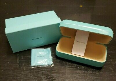 Tiffany & Co Eye Glasses Sunglasses Hard Clamshell Case and Box Company T&Co