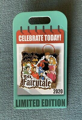 New Disney Parks Celebrate Today Tell a Fairytale Day Pin LE 4000