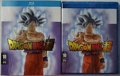 New Dragon Ball Super: Part 10 Blu Ray 2 Disc + Slipcover Sleeve Free Shipping