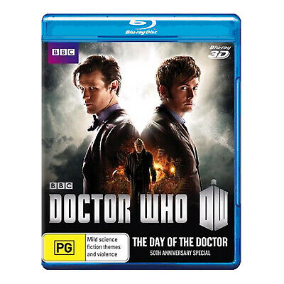Doctor Who: The Day Of The Doctor Blu-ray 3D + 2D - David Tennant, Matt Smith