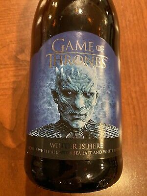 Game Of Thrones Double White Ale Bottle Knight King Winter Is Here Ommegang