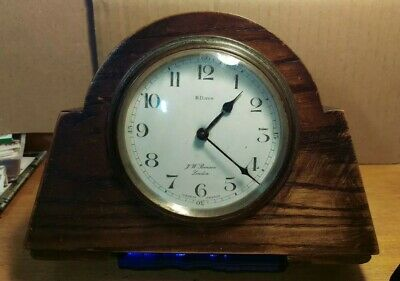 Antique J.W. Benson Of London, French Made Clock's, 8 Day.
