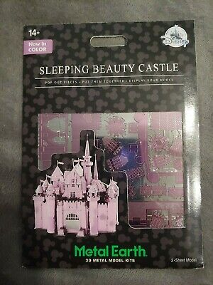 Sleeping Beauty Castle - Metal Earth - Disney Parks - Color 3D Metal Model Kit