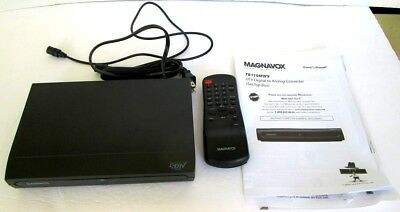 Magnavox TB100MW9 DTV Converter Gently Used EVERYTHING IS INCLUDED!!