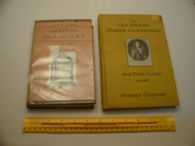 Book 1,223 – Lot of 2 clock books