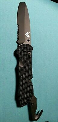 Benchmade Triage 916sbk N680 Axis Lock survival tactical outdoor pocketknife NEW
