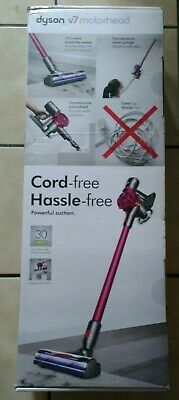 Dyson V7 Motorhead Cordless Stick Vaccum - Fuchsia SV11 New Sealed