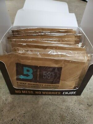 Boveda 58% Rh (67 Gram) - Retail Carton (12 Packets)