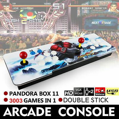 Pandora Box 11S 3003 in 1 Retro Arcade Console Support Video Games Double Sticks