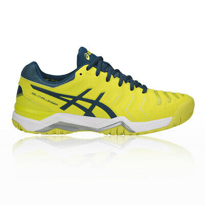 Asics Hombre Gel-challenger 11 Tenis Zapatos Amarillo Deporte Transpirable