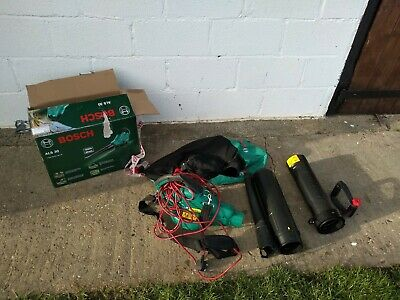 Bosch ALS 30 Garden Vacuum Leaf Blower, light use only.