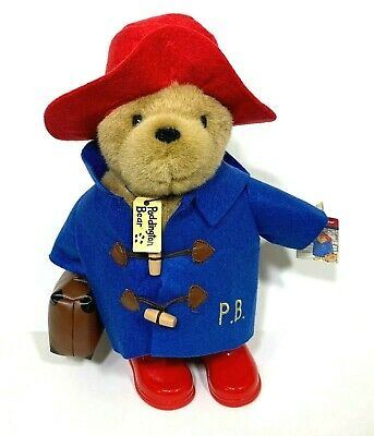 PaddingtonBear Rainbow Designs Classic With Boots And Suitcase UK Large