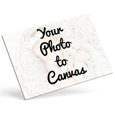 Personalised Photo Canvas Picture Photo Canvas Print Wall Art Photo Canvas Frame