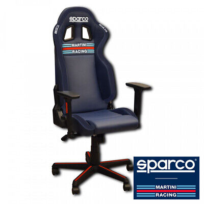 SPARCO MARTINI RACING ICON Office Seat Chair Replica Gaming (2020 PRE-ORDER)