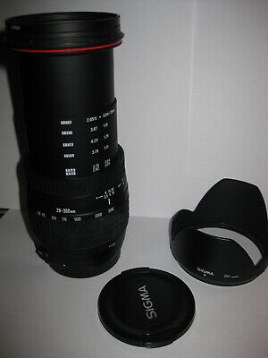 EXC! For Canon Sigma Compact Hyperzoom 28-300mm 3.5-6.3 Aspherical IF LENS Caps