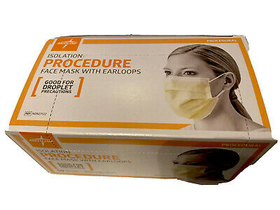 50 NEW IN BOX Disposable Surgical Face NOSE Mask for Flu Mouth Masks MEDICAL