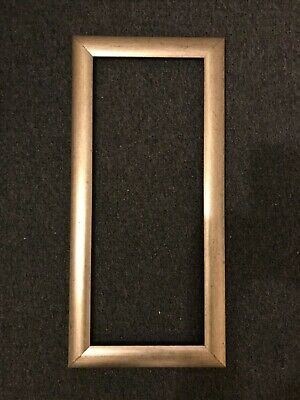 """Wooden Picture Photo Frame 22.5""""x10.5"""" Gold/Bronze Effect Rustic Arts Crafts"""