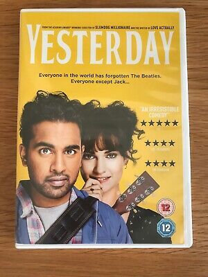 Yesterday DVD (2019)