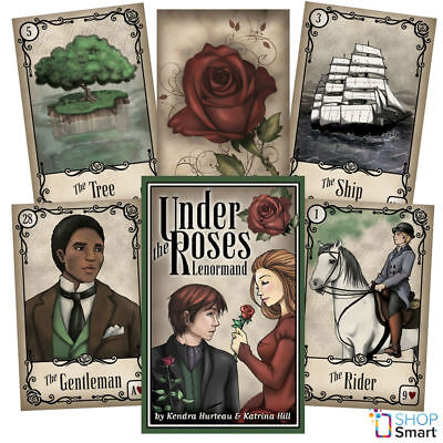 Under The Roses Lenormand Oracle Deck Cards Esoteric Telling Us Games Systems
