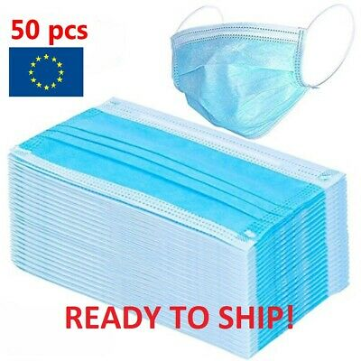 Medical Face Mask LEVEL 3 50Pcs PACK Disposable Anti-Bacteria Surgical Ear Loop