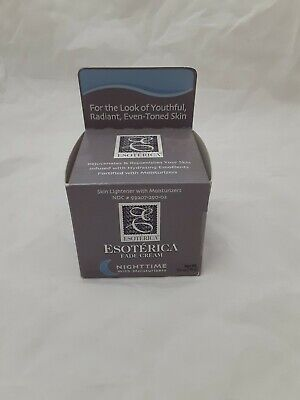 NEW Esoterica Fade Cream Nighttime With Moisturizers 2.5 oz EXP 6/2016 NIGHT
