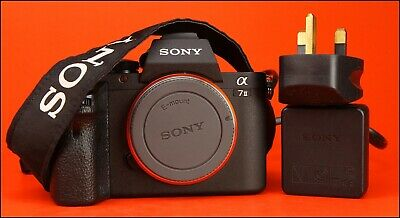 Sony Alpha A7 II Compact Mirrorless Camera Body with Battery & Charger 103 Shots