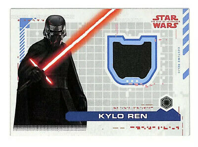 2019 Topps Star Wars The Rise Of Skywalker Kylo Ren 74/99 costume relic card