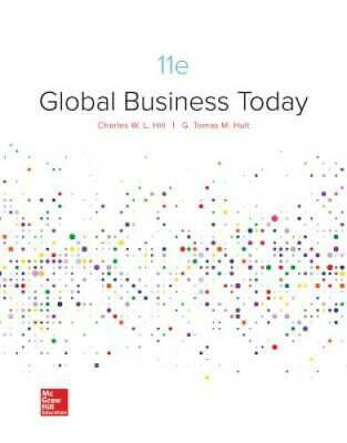 Loose-Leaf Global Business Today - Loose Leaf By Hill Dr, Charles W. L. - GOOD